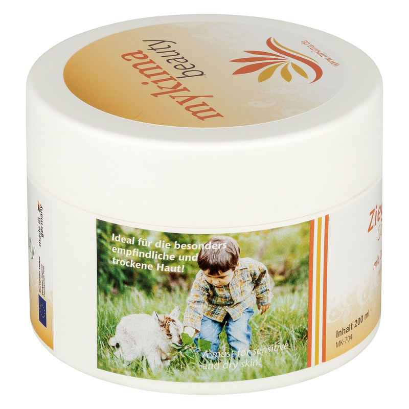goat butter balm with olive oil and aloe vera 200 ml