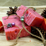 Cold-stirred sheeps milk soap wild rose 150gr