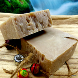 Cold-stirred sheeps milk soap almond oil 150gr