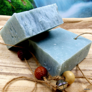 Cold-stirred sheeps milk soap Salt150gr